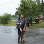 S pláštěnkami po dešti. (053DenDeti2012©D.Koutník)