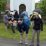 Pocty běžet s Danem se dostalo Ivanovi a Renče. Radostí nemohli dýchat ještě před startem. (054DenDeti2012©D.Koutník)