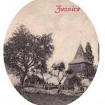 11-Dřevěná zvonice na hřbitově u kostela ze 17. století