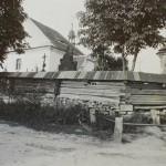 14-Pohled na hřbitov a kostel svaté Kateřiny-1927